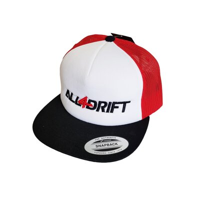 Cap All4Drift CLASSIC piros unisex